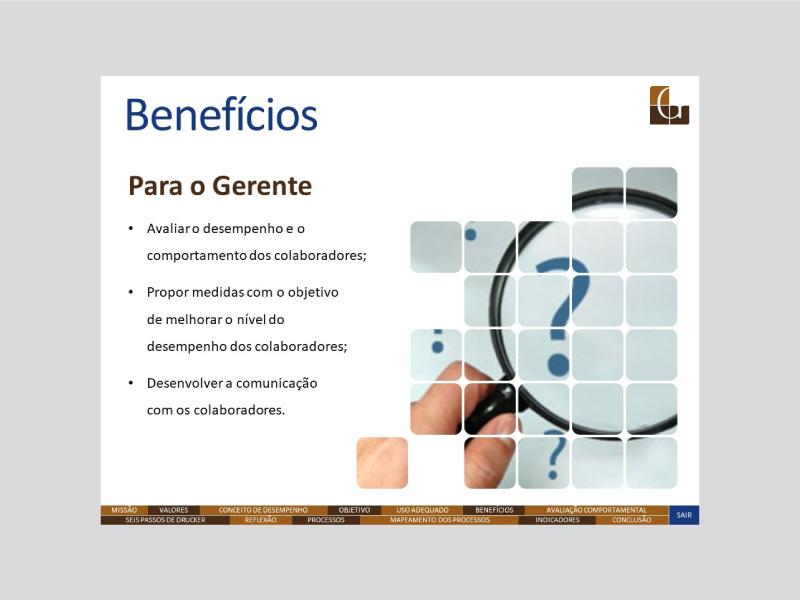 Avaliação de Desempenho – Garcia & Garcia