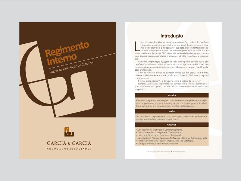 Regimento Interno Garcia & Garcia