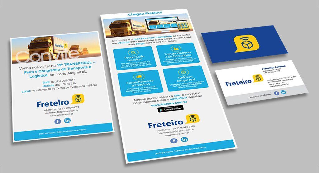 E-convite, e-mail marketing e cartão de visita